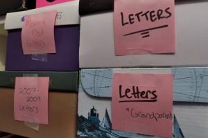 Letter Shoesboxes