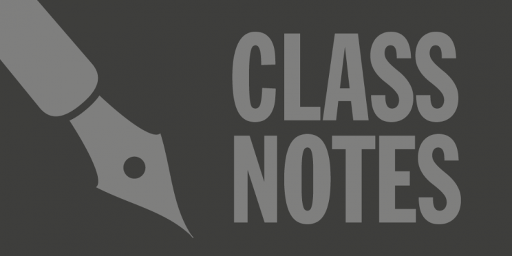 Class notes banners