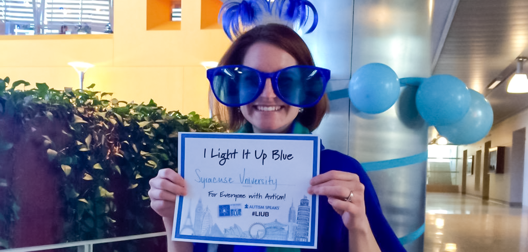 Autism Awareness Day - Light it up Blue