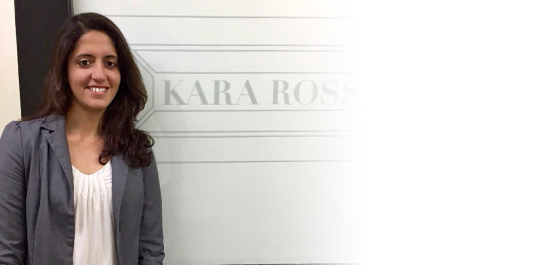 Nishtha at Kara Ross
