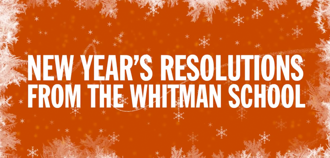 Whitman's New Year's Resolutions