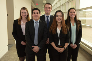 Team members: Michelle Martin, Greg Weizman, Christopher Liakos, Amanda Shank, Dan Wang