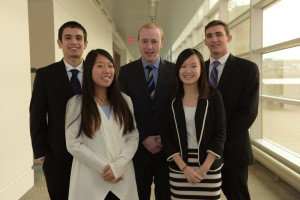 Team members: Karen Kim, Karl Constantino, Mike Hogan, David Olarte, Diana Situ
