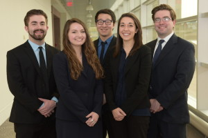 Team members: Sarah Graham, Joey Howard, Brian Lawlor, Chris Lim, Lindsey Ludlum