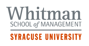 whitman school of management at syracuse university logo