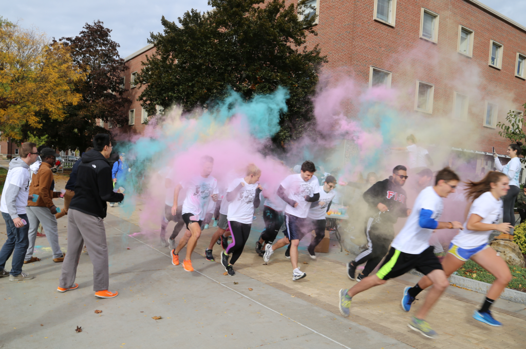 Cuse vs Cancer Color Run with DSP