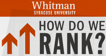 How Whitman Ranks