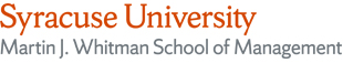 Martin J. Whitman School of Management at Syracuse University logo
