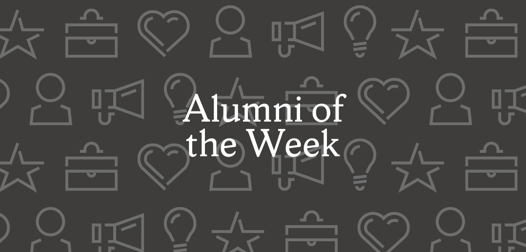 Alumni of the Week