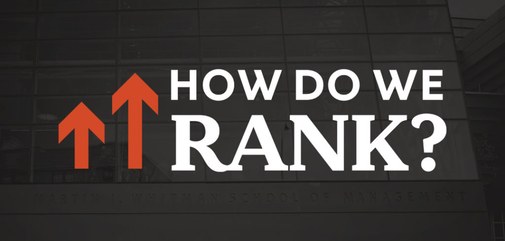 "A graphic asking ""How do we rank?"""