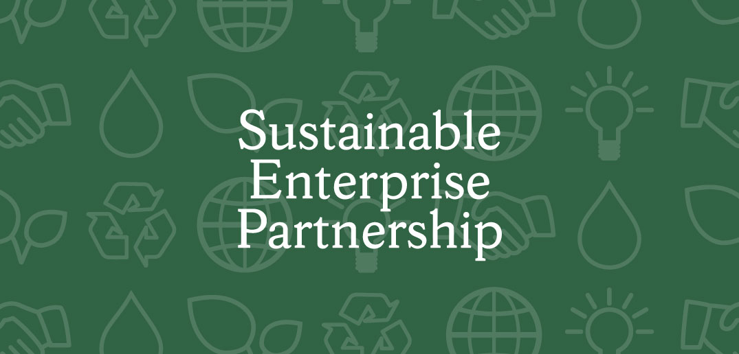 Sustainable Enterprise Partnership banner