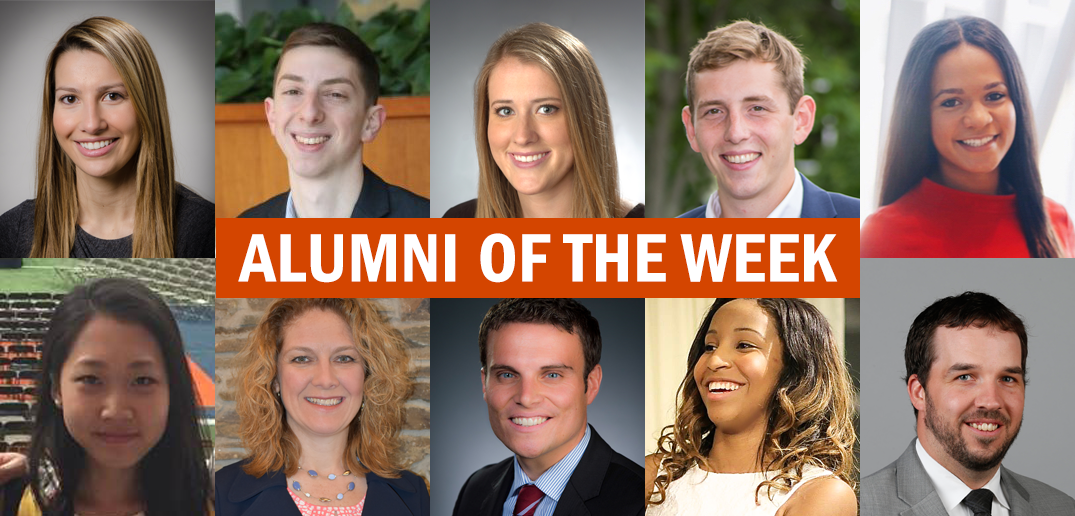 "Features Whitman School alumni and says ""Alumni of the week""."