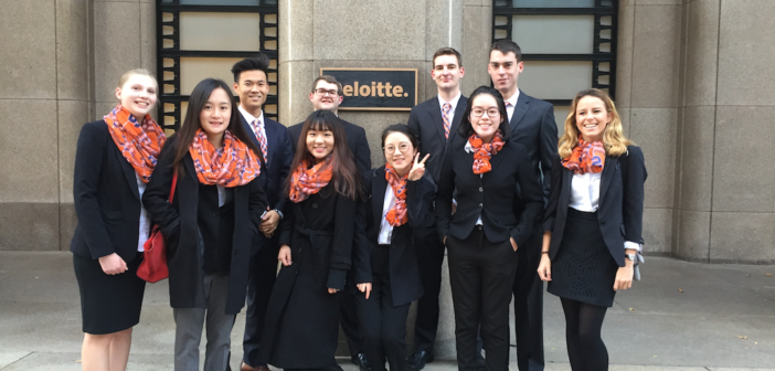 Whitman Accounting Students Place First in Regionals of Annual Deloitte Tax Competition