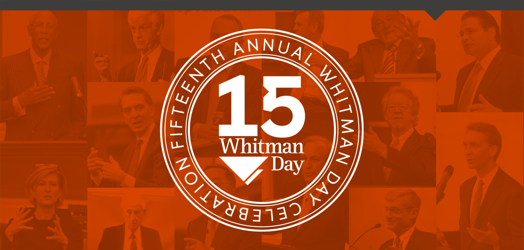 Whitman Day 2018 Banner
