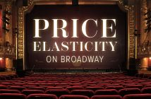 Price Elasticity on Broadway
