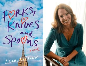 Forks, Knives and Spoons cover and Leah DeCesare