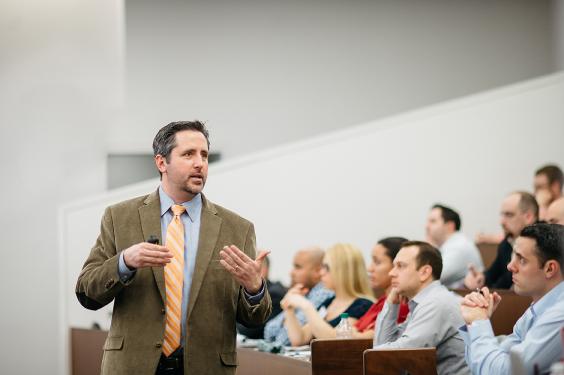 Todd Moss teaching