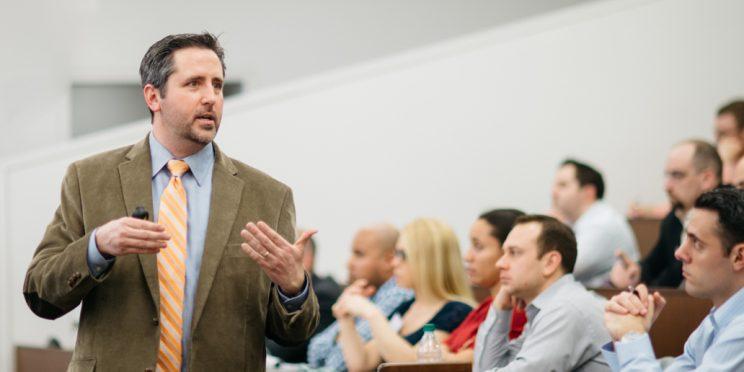 Todd Moss teaching a class