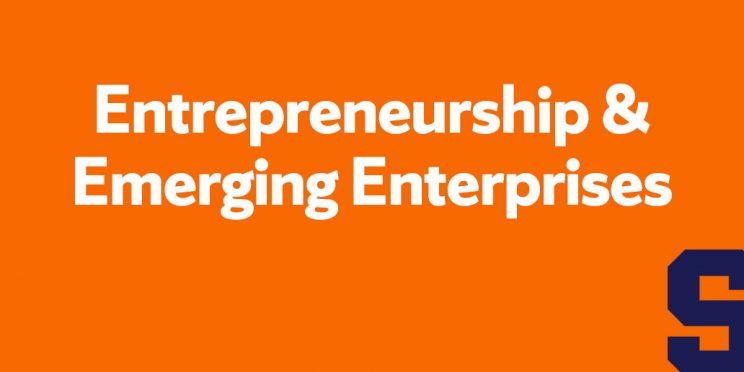 entrepreneurship & emerging enterprises