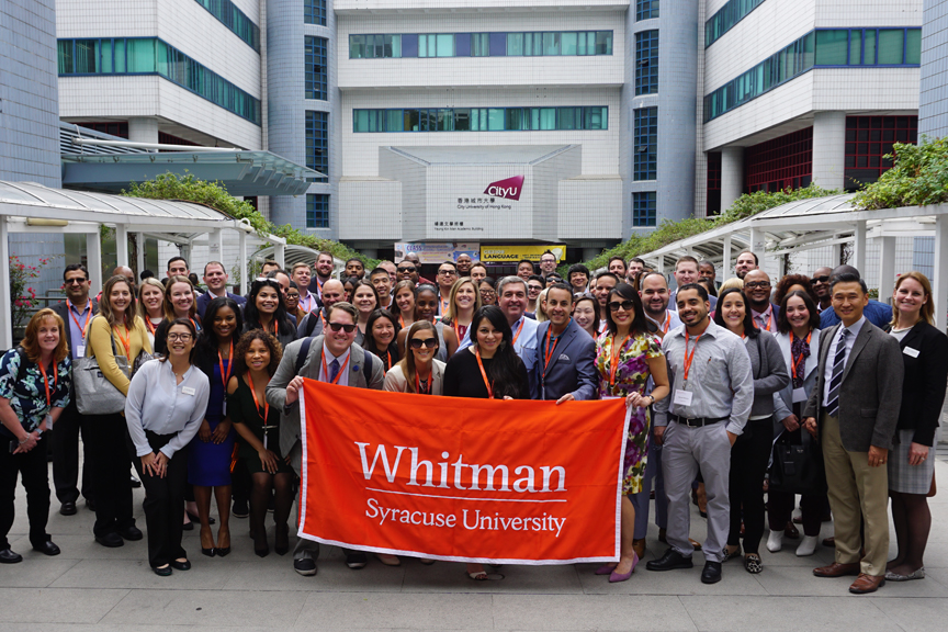 Whitman graduate students in Asia