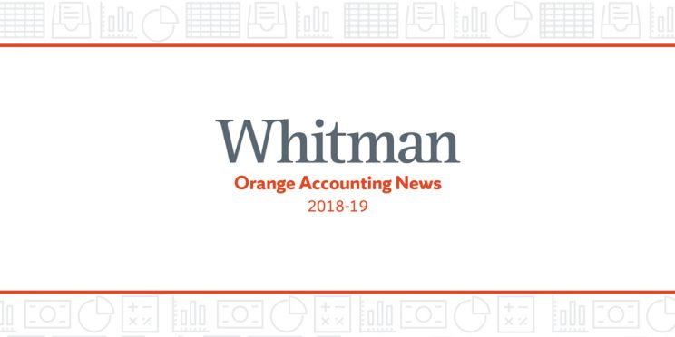Orange Accounting News 2019 Cover