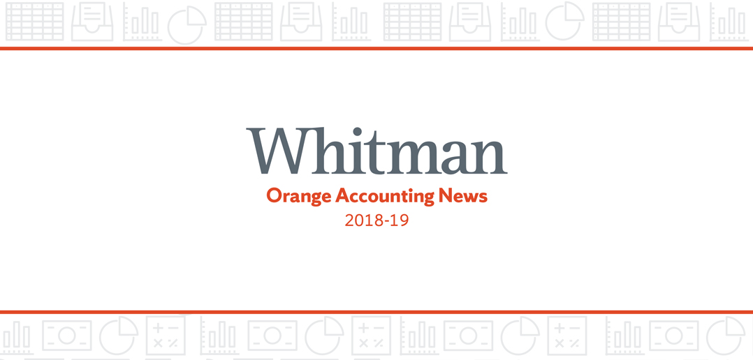 Orange Accounting News 2019 Cover