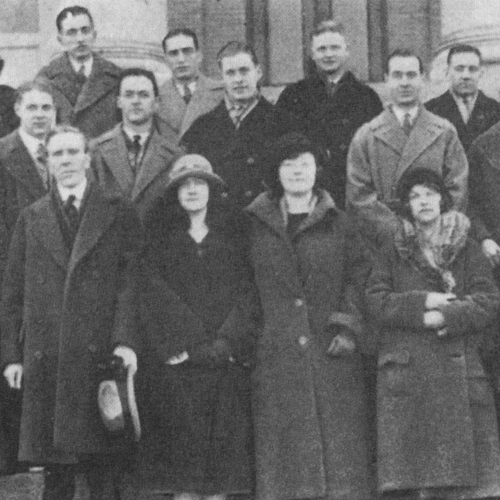 College Of Business Administration Faculty SlocumHall 1921