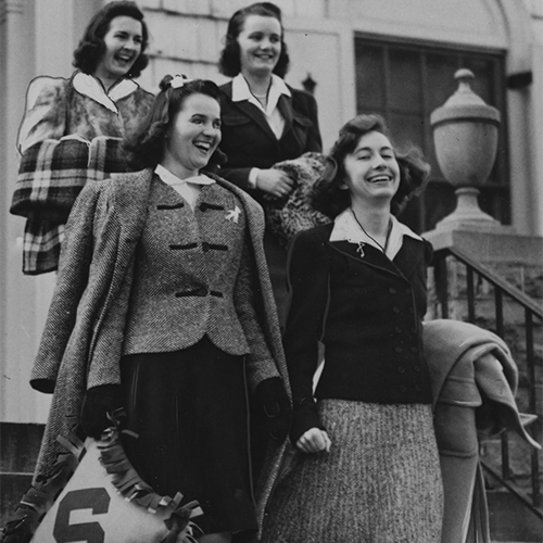 Orange Fans Early 1940s