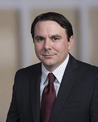 portrait of professor Cameron Miller