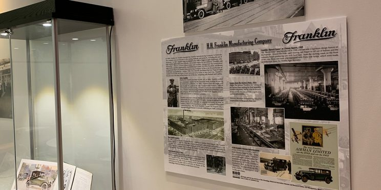 poster of Franklin's history