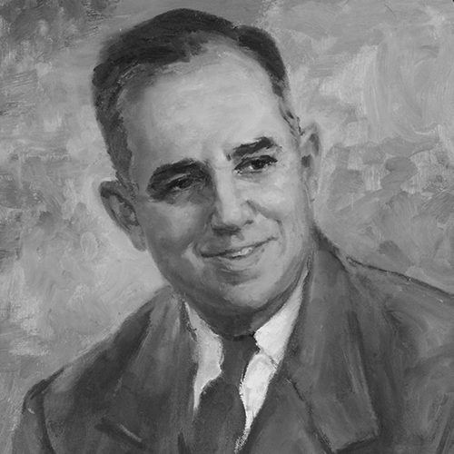 Painting of Earl Snyder