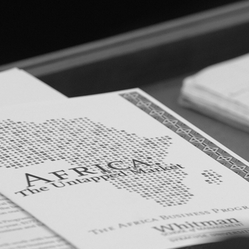 Brochure about the Africa Business Program