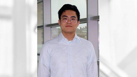 student headshot of Tianxing Hu