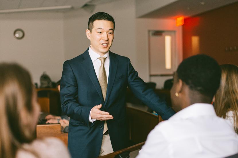 David Park teaching