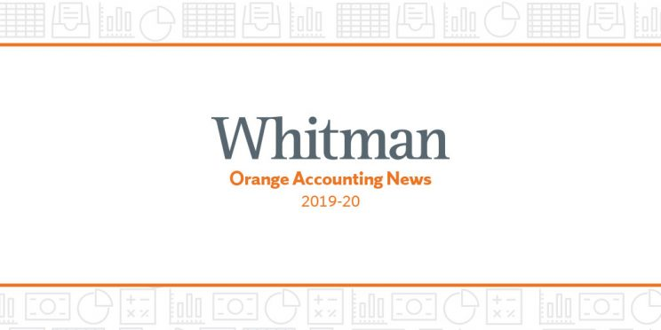text - Whitman Orange Accounting News 2019-2020