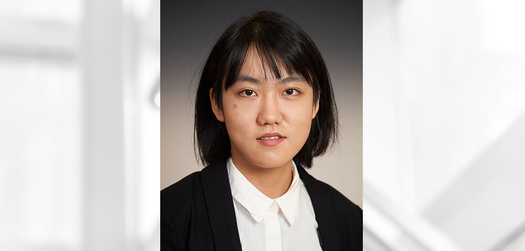 headshot of Xinyu Wang