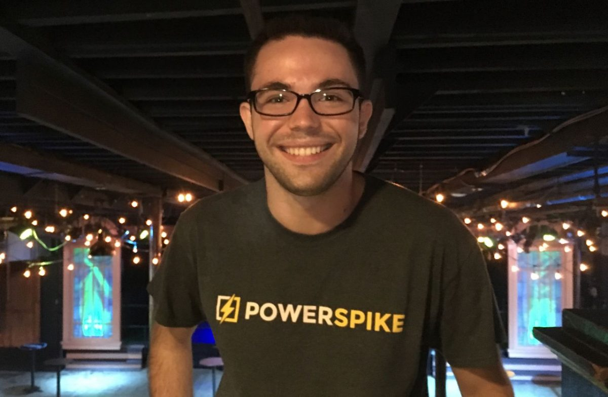 A.J. Damiano '18, Co-Founder of Powerspike