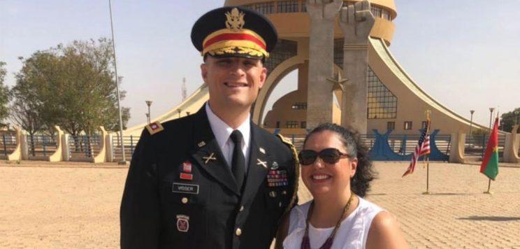 Andrew and Dominique Visser