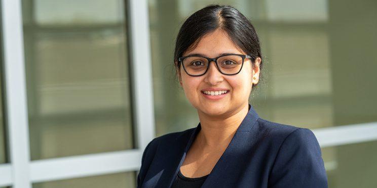 headshot of Meheli Basu